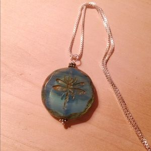 Jewelry - Dragonfly Pendant Necklace